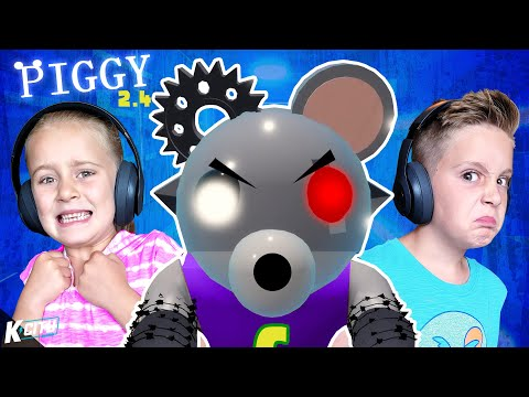 Revenge of Robot Chuck E Cheese!!! (ROBLOX Piggy 2.4) K-City Gaming