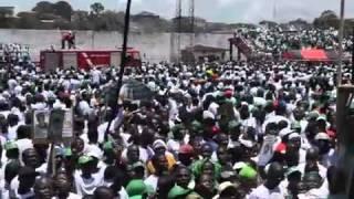 Unity Party Landing - Monrovia, Liberia
