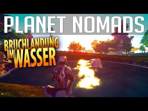PLANET NOMADS #01 | Bruchlandung im Wasser | Gameplay German Deutsch