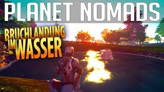PLANET NOMADS #01 | Bruchlandung im Wasser | Gameplay German Deutsch thumbnail