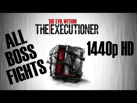 BE THE BOXMAN! | The Evil Within: The Executioner - All Boss Fights