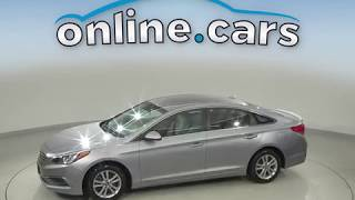 A10722PT Used 2016 Hyundai Sonata SE FWD 4D Sedan Gray Test Drive, Review, For Sale