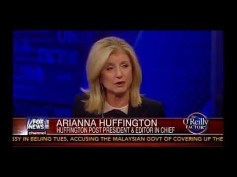 Bill O'Reilly vs Arianna Huffington