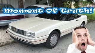 Does The Copart Flood Cadillac Allante Start & Drive?!
