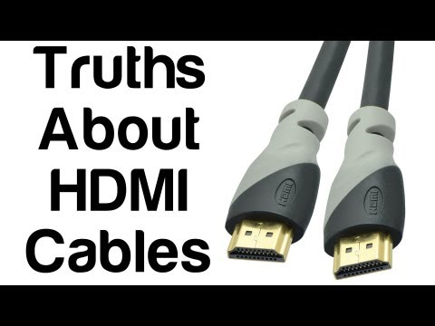 The Facts and Truths About HDMI Cables