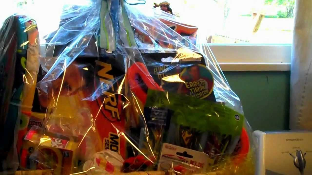 How i put together easter baskets for my boys 1 grandson 5 and how i put together easter baskets for my boys 1 grandson 5 and 1 son 28 youtube negle Choice Image