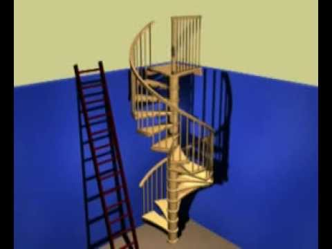 Spiral Stair Kit Install Guide Youtube | Installing A Spiral Staircase | 10 Foot | Glass | Drawing | Interior | Staircase 2