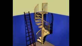 Spiral Stair Kit Install Guide