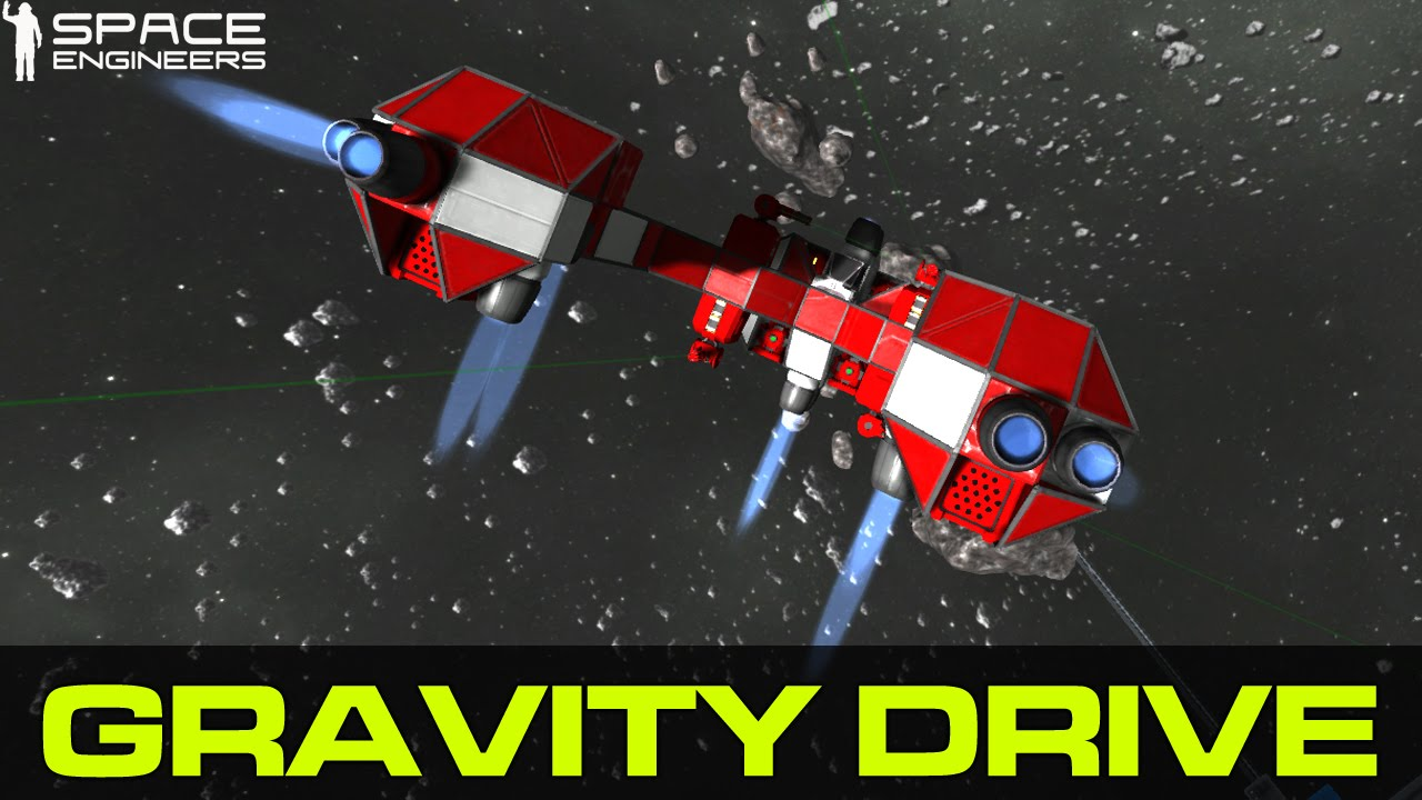 Space Engineers: Gravity Drive (husky style..) - YouTube