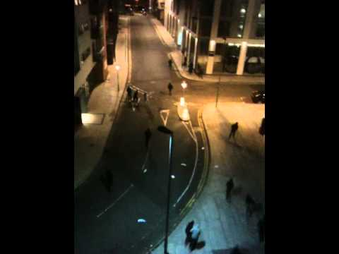 Birmingham Riots 2011- The Mailbox