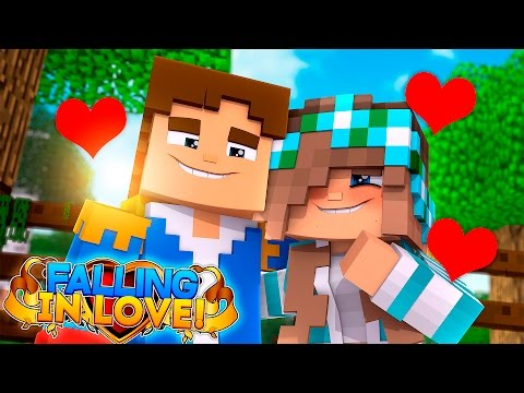 Minecraft Adventure - IS LITTLE DONNY FALLING IN LOVE WITH ASHLEY ?💞💖💘