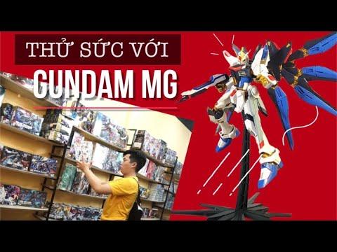 Cùng nShop ráp thử mô hình Bandai 1/100 MG Strike Freedom Gundam X20A siêu chất
