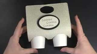 Easy Mini Coffee Cup Holder, Wowza #25