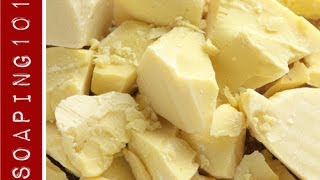 Cocoa Butter for Soapmaking
