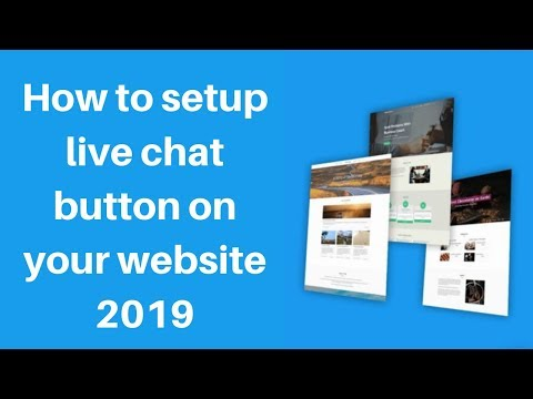 How to setup live chat button on your website 2019 | Digital Marketing Tutorial thumbnail