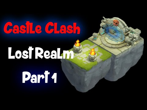 Castle Clash: Lost Realm Gameplay Part 1