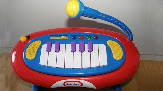 Little Tikes Piano Keyboard With Microphone And Drum Stool