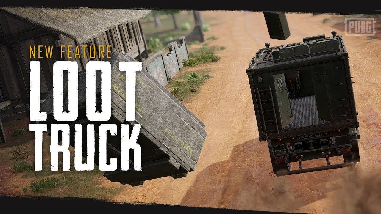 [카카오 배틀그라운드] 시즌8: 신규 피쳐 - 루트 트럭