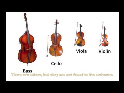 Instruments of the Orchestra-Strings: Part 9 - Listening Examples