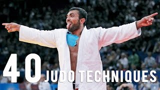 Video 40 Judo Techniques in 5 mn with the Superstars download MP3, 3GP, MP4, WEBM, AVI, FLV Desember 2017