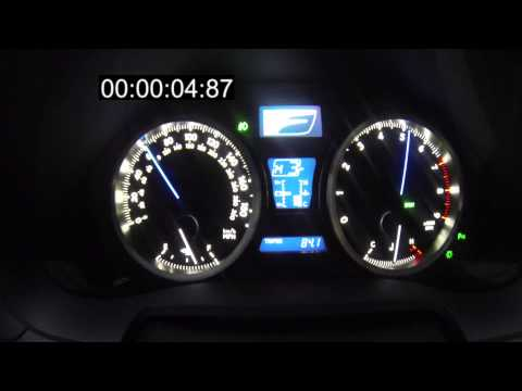 2008 Lexus ISF 0 60 Acceleration