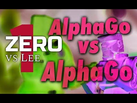 AlphaGo Zero vs. AlphaGo Lee with Michael Redmond 9p: Game 1