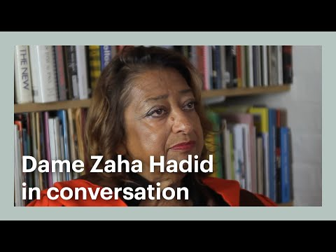 Dame Zaha Hadid in Conversation