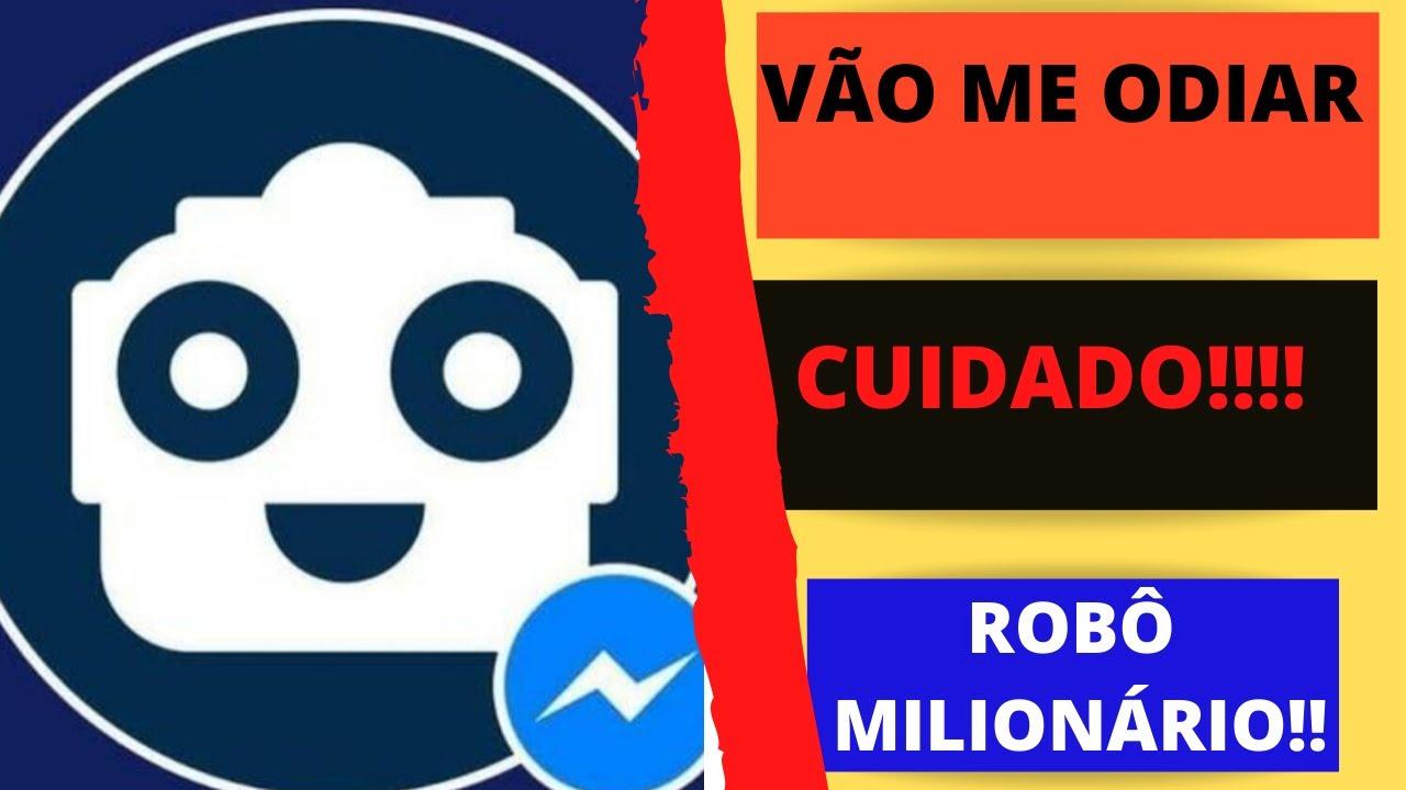 como criar o robo milionario no facebook