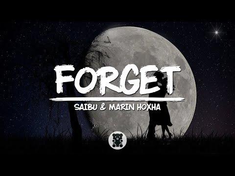 SAIBU & Marin Hoxha - Forget (Lyrics Video)