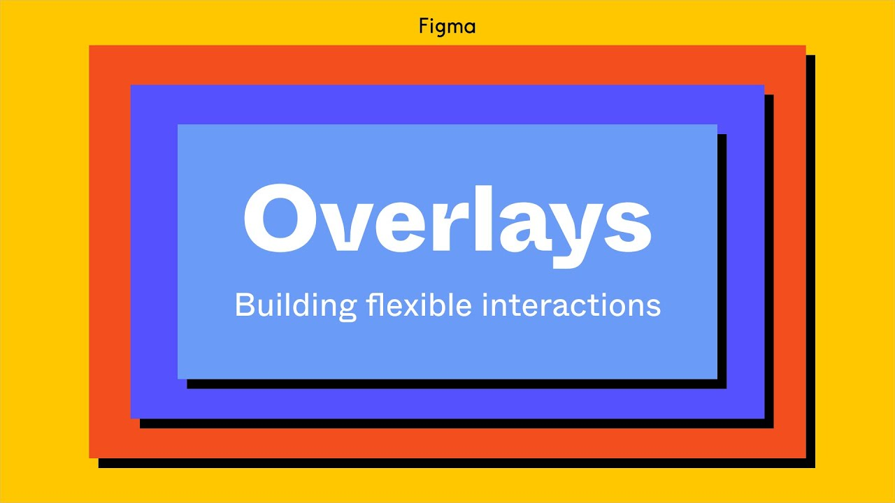 Prototyping with Overlays - Figma