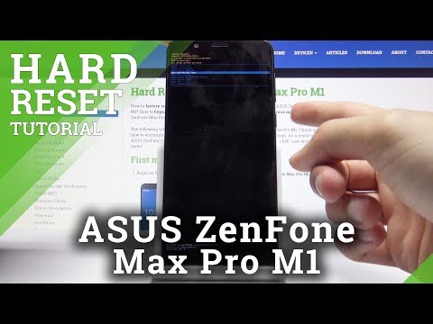 Repeat Hard Reset Asus ZenFone Max Pro M1 - Bypass Screen