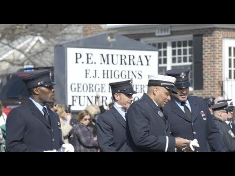 Boston Firefighter Michael Kennedy's Wake