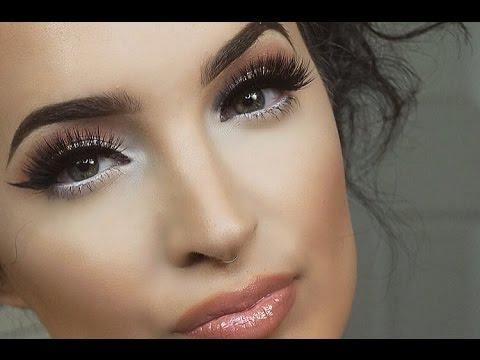 simple fresh summer makeup tutorial  full face  youtube