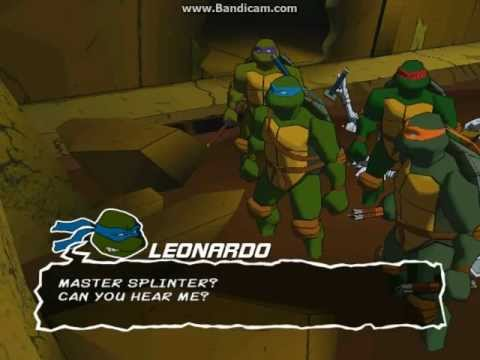 TMNT 2003 Video Game - Leo Story Mode Part 1