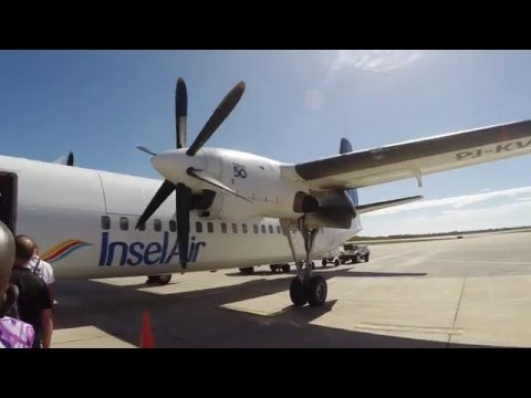 InselAir 7I 308 - Bonaire - Curacao - Fokker 50 - Economy class