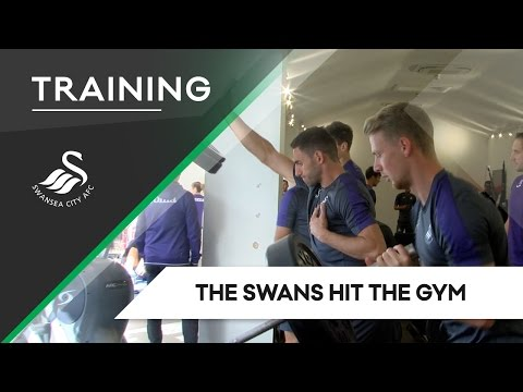 Swans TV - Training: The Swans hit the gym