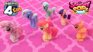 Squishy Pops My Little Pony Wave 2 Cutie Mark Crusaders Trixie Lyra