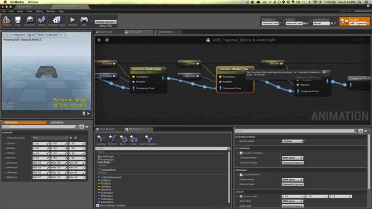 Unreal engine 4 vehicle tutorial blueprint youtube malvernweather Choice Image