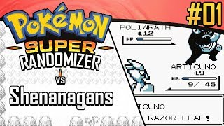 SUPER Randomizer vs Shenanagans | Pokemon Red/Blue #1