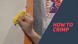 Climbing tips: Introduction to Crimping
