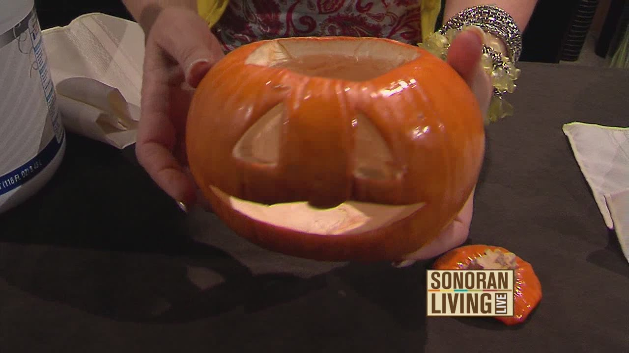 Foam Carving Pumpkins