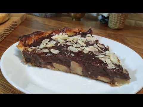 tarte-aux-pommes-crème-pâtissière-cuisine-maliya,-أروع-طارط-التفاح-بمذاق-جديد-ومكونات-بسيطة