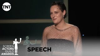 Phoebe Waller-Bridge: Award Acceptance Speech | 26th Annual SAG Awards | TNT