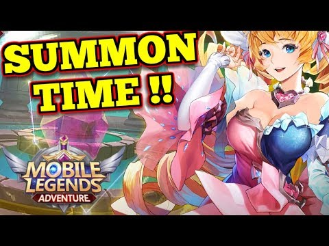 SUMMON clear out ! - Mobile Legends: Adventure - YouTube