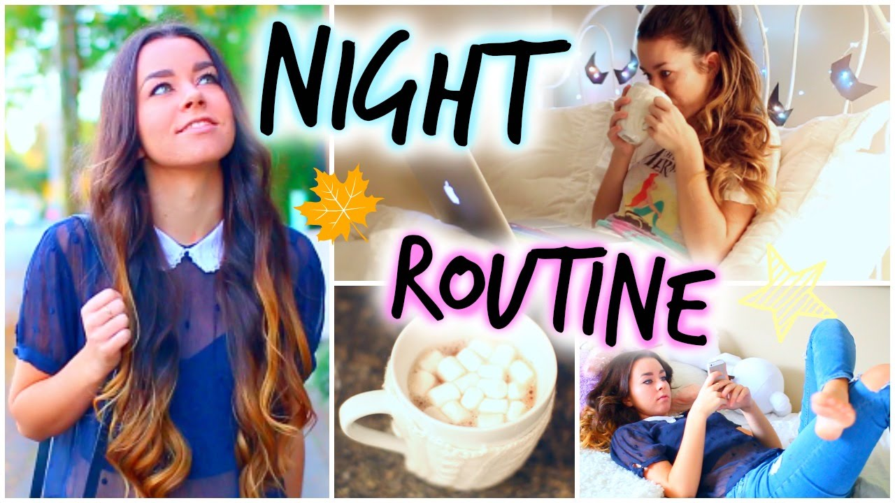 Night Routine! Fall Edition! - YouTube