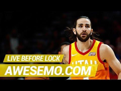 b1a94ac4ae7 NBA DFS Live Before Lock - Wed 2 27 - Yahoo