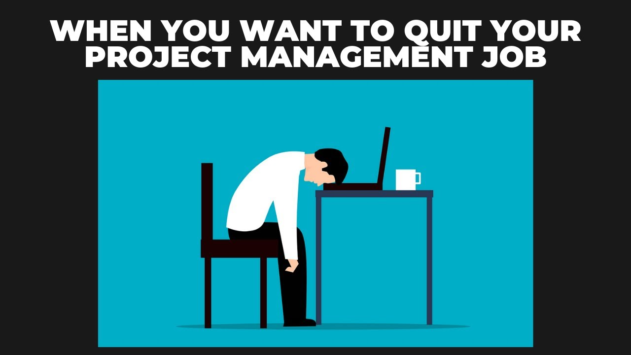 When You Want to Quit Your Project Management Job