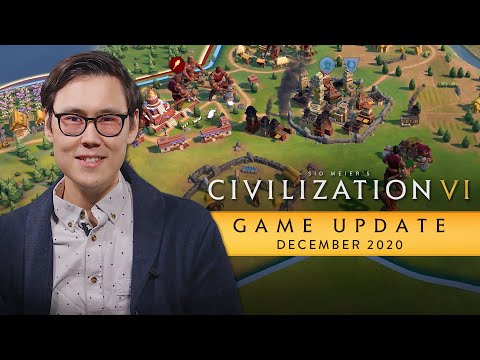Обновление для Civilization VI: декабрь 2020 г.
