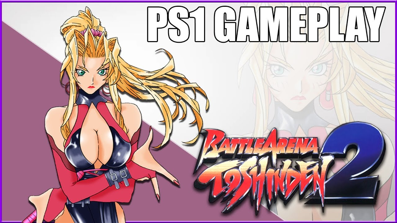 Battle Arena Toshinden 2 Ps1 Gameplay Sofia Story Mode 720p