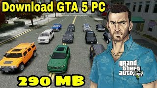 download GTA 5 for pc in (290MB) highly compressed gta vice city mod.